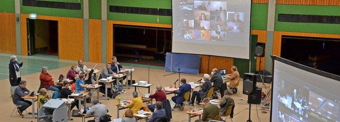 Ratssitzung Haushalt 2021