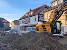 Baustelle Hauptstraße Wennigsen