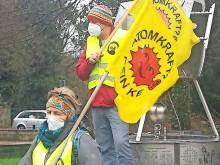Fukushima: Mahnwache am Rathaus